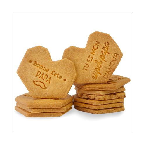 biscuits à messages personnalisés pour la fête des pères